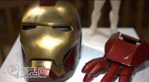 打印未来 钢铁侠面具手套领衔伦敦3D打印展