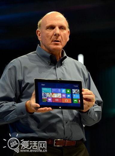 微软称将更关注自家硬件 鲍尔默:合作伙伴习惯就好