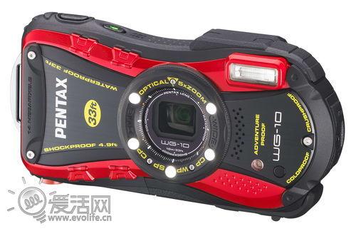 宾得发布新款三防相机WG-3/WG-10