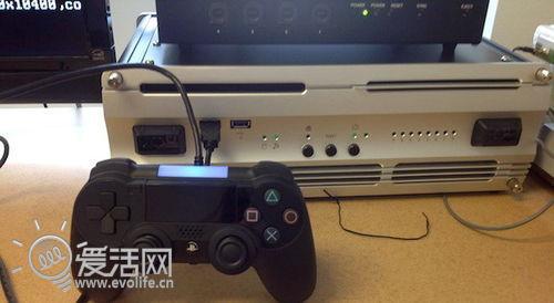 疑似PS4手柄图片再次泄露 最大变化是触控板