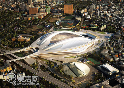 主打科幻风 2020年东京奥运会主场馆效果视频演示