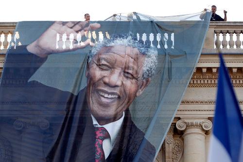 【去他的摄影】纪念曼德拉去世:世界的表情