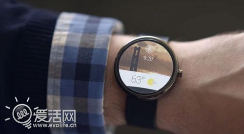 独树一帜 摩托罗拉圆屏智能手表Moto 360抢先看
