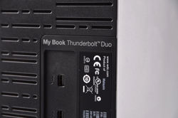 书中穿梭快似雷 WD My Book thunderbolt duo试玩