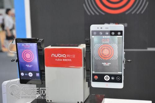 【GSMA2014】4G通讯全包揽 中兴大波4G手机来袭