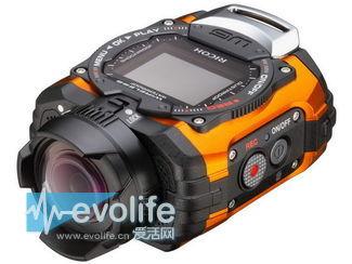 防水防尘不怕摔 理光三防数码相机WG-M1专门陪你玩户外