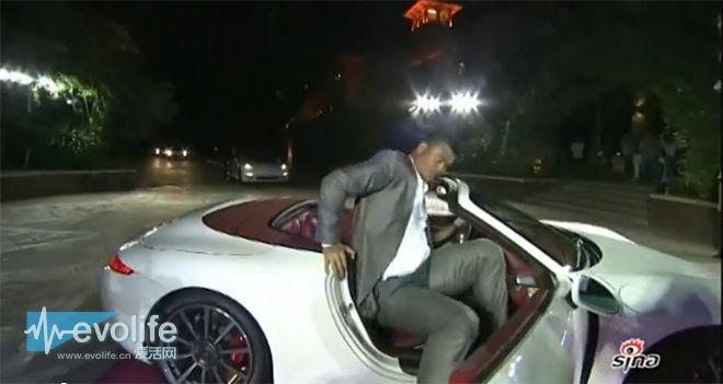 个子高就是这么任性 姚明都开什么车?