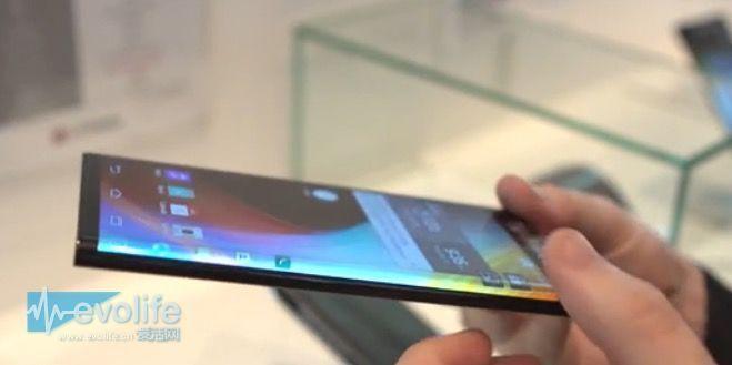 【CES2015】Galaxy Note Edge就一个侧面弯曲?LG新手机两边都弯了