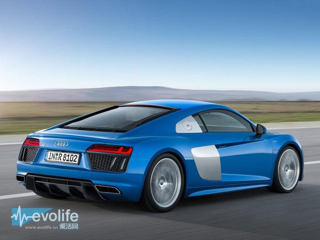 2015日内瓦车展奥迪R8 V10和R8 V10 Plus双连发 Huracan附体