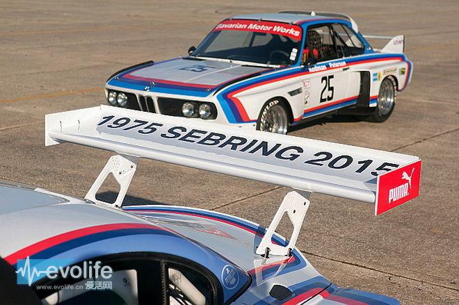 1975年BMW 3.0 CSL来了个后辈 变成圆润的Z4 GTLM