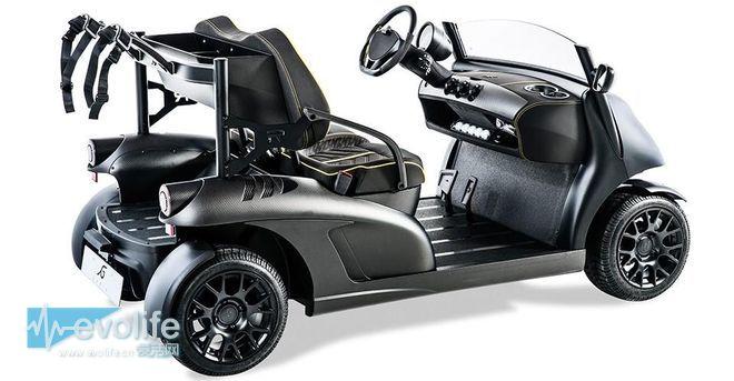 【2015日内车展】有人把高尔夫球车卖得比跑车还贵