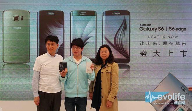 直的弯的都有了 Galaxy S6 & S6 edge今日上海开卖