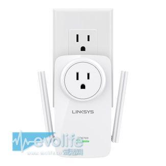 Wi-Fi信号可以玩接力 快来看看Linksys RE6700无线域展器