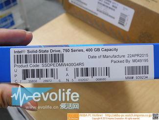 地上最强固态硬盘英特尔SSD750秋叶原开卖 你猜要多少钱?