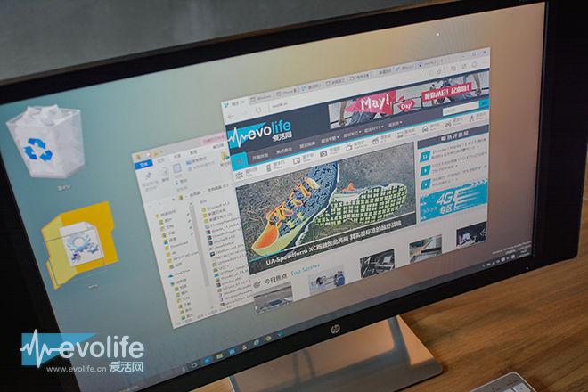 曲面屏设计不光是用来看的 惠普Pavilion 27c显示器娱乐体验