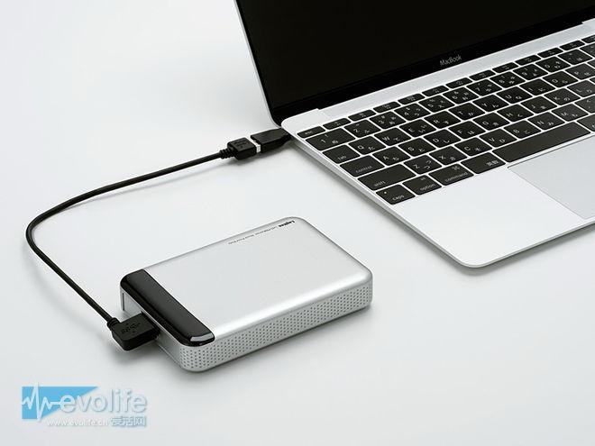 罗技首款USB Type-C移动硬盘问世 是个符合美国军标的硬汉