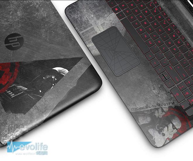 699美元起售 惠普笔记本来了个星球大战主题套装