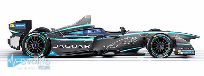 捷豹宣布参战Formula E 涂装主题像来自创战纪