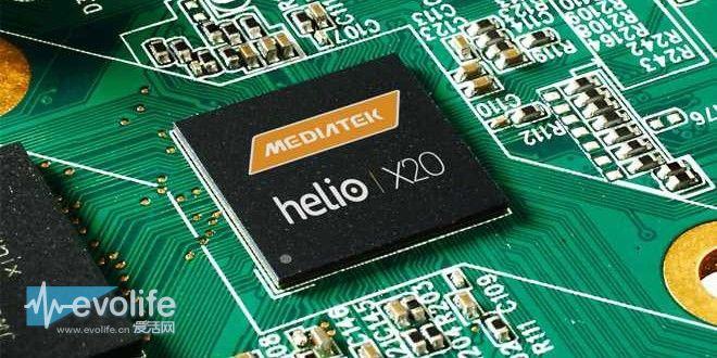联发科Helio X20跑分曝光 更高端的Helio X30还在路上