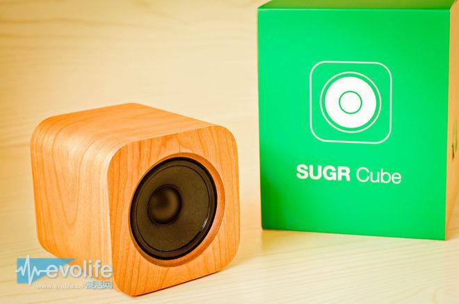 SUGR方糖音箱表面简约纯朴 内心却玩起体感操作
