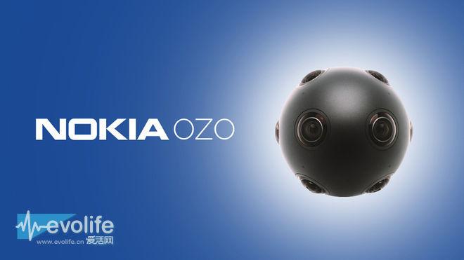 8组摄像头虚拟现实相机 诺基亚OZO预定价6万美元