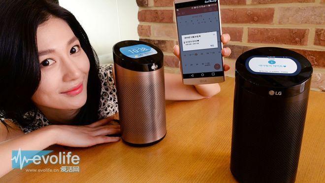 【CES2016】效仿亚马逊Echo LG为物联网带来了SmartThinQ