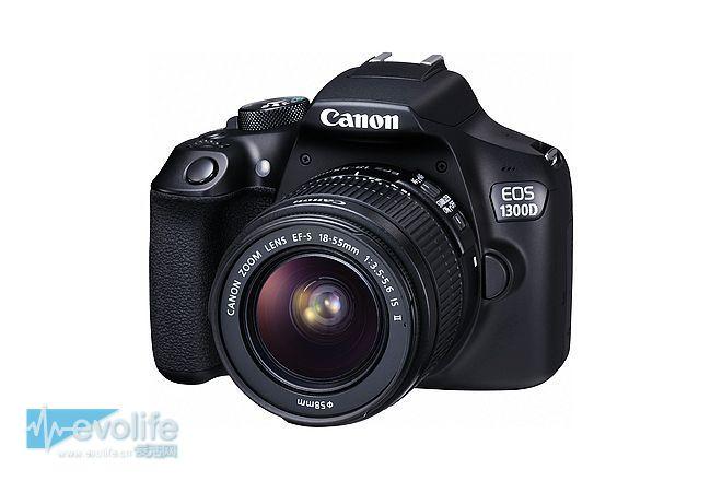 没有无线单反不是好单反 佳能再发数码相机新品EOS 1300D