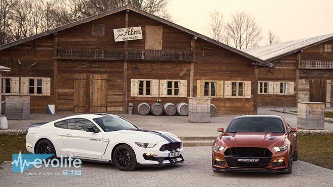 820马力的Mustang GT 快到连进气格栅都不要了