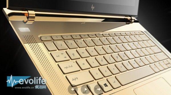 10.4mm我最型! HP Spectre要拳打XPS 13脚踢MacBook