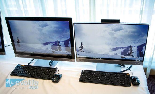 一体机PC也玩超窄边框? HP Pavilion表示这个可以有