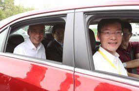 通用汽车首次在中国演示最新网联汽车(V2X)技术