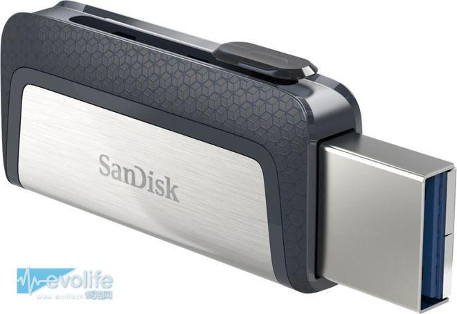 给了苹果iXpand 闪迪给安卓也准备了USB Type-C双头U盘