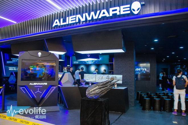 Alienware第130号基地达成 没人能阻止外星人实体店脚步