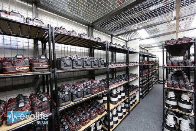 穷尽三代也买不起 佳能备战里约奥运会的超级装备库