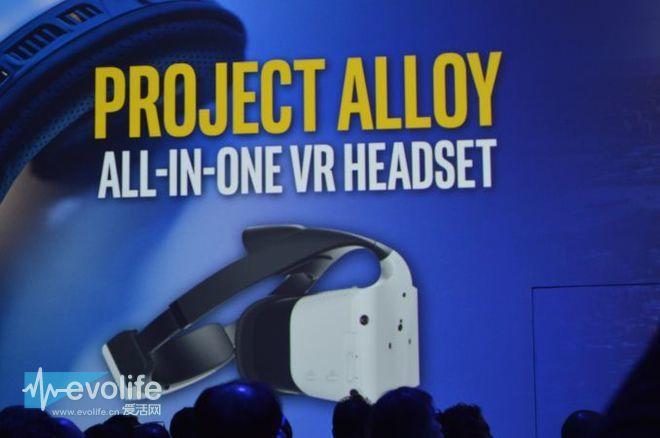 斩断讨厌的线缆 Intel Project Alloy是强化版的HoloLens?