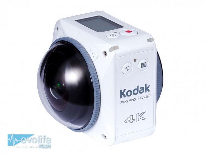 主角光环加持 挂不掉的柯达又带着4K 360度相机杀回来了